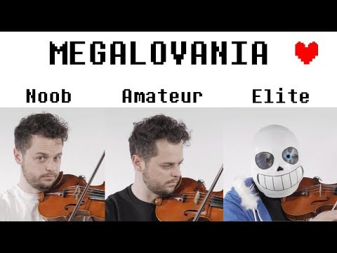 4 Levels of Megalovania: Noob to Elite - YouTube