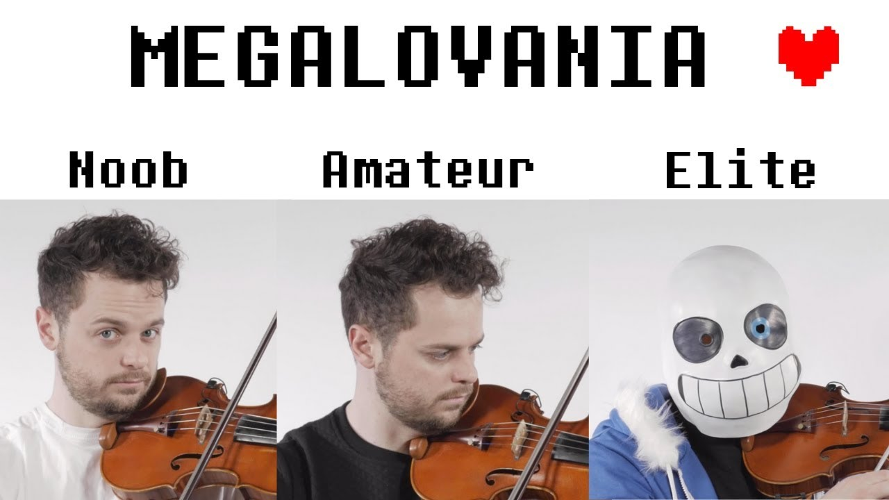 4 Levels of Megalovania: Noob to Elite