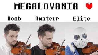 4 Levels of Megalovania: Noob to El...