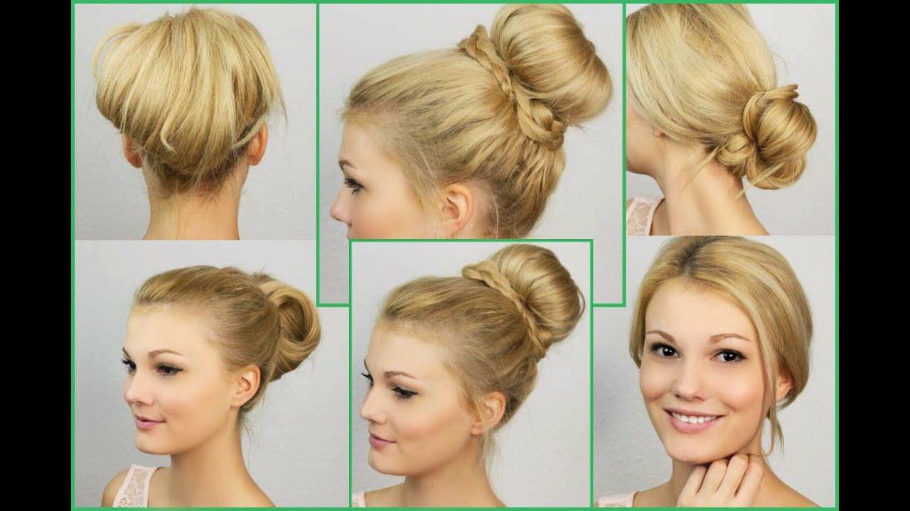 Ball Frisuren Mittellange Haare Selber Machen Hair Tutorial