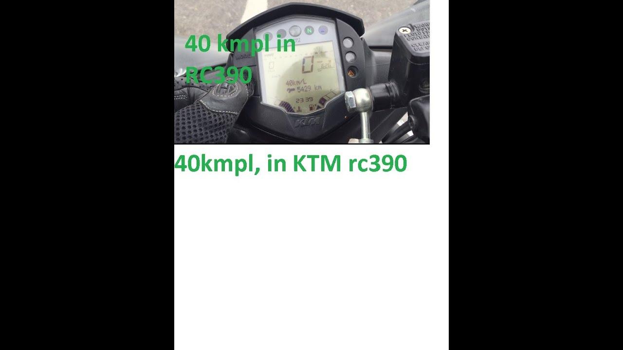 How to increase fuel economy | KTM RC390 fuel economy | Random ...