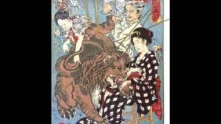 "Japanese Traditional Paintings ""Ukiyoe"" - 浮世絵(生き物編)"