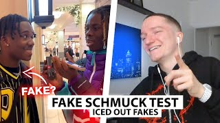 Justin reagiert wieder auf Iced Out FAKE CHECK.. | Reaktion