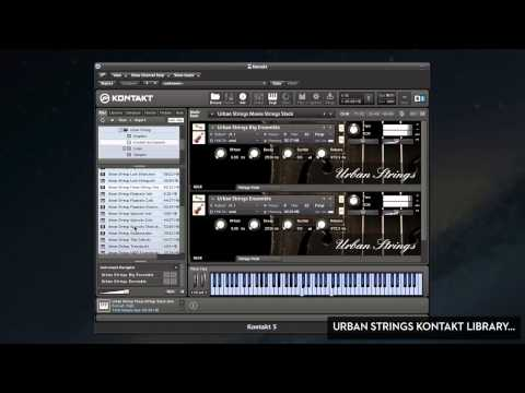 Urban Strings Sample Library - String Samples For Kontakt (For Music Producers, Film Scoring Etc.)