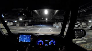 【Test Drive】 2020 New Mitsubishi eK X(Cross) Space Hybrid 660cc Turbo 4WD - POV Night...