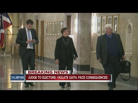 Colorado 'Hamilton Electors' file appeal in 10th Circuit in continued attempt to not elect Trump