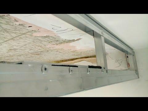 Ниша под скрытый карниз / натяжной потолок / новая система Duplex от компании PROZET
