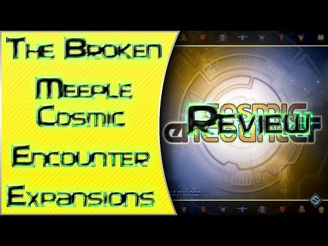 The Broken Meeple - Board Game Review - Cosmic Encounter Expansions