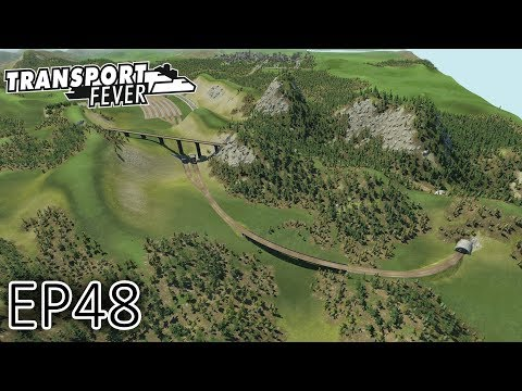 Transport Fever Gameplay | HUGE OIL LINE! (Part 1) | The Great Lakes | S2 - Episode 48