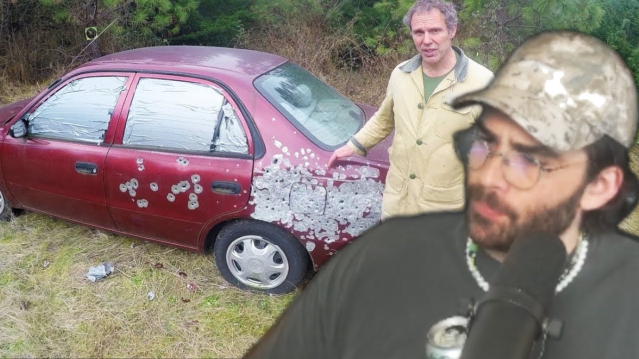 Hasanabi Reacts to Using a car as cover