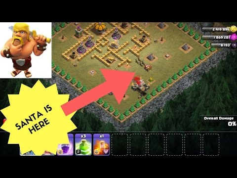 CHRISTMAS GIFT ,GLITCH ,HALLOWEEN UPDATE | CLASH OF CLANS