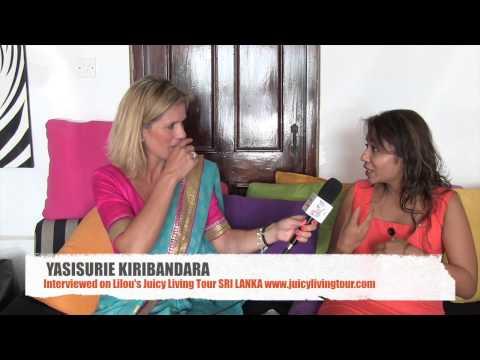 Fashion designer following the universal guidance - Yasisurie Kiribandara