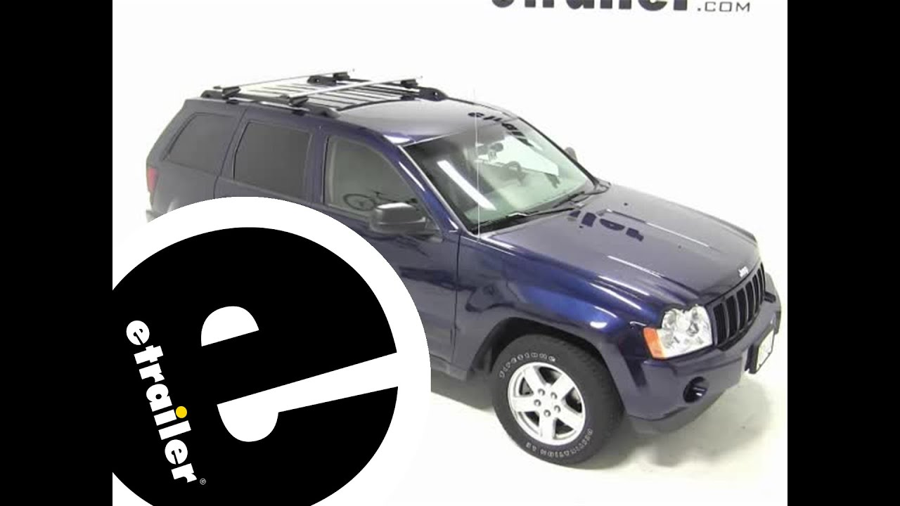 Marvelous Installation Of A Thule AeroBlade Crossroad Roof Rack On A 2005 Jeep Grand  Cherokee   Etrailer.com