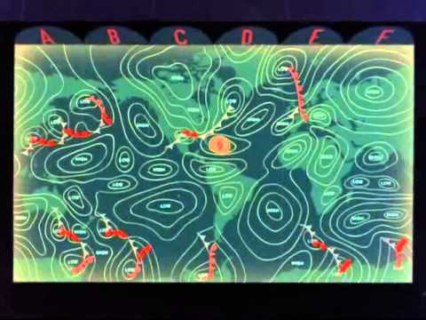 Eyes in Outer Space 1959 - Cloud Seeding Hurricanes by Walt Disney