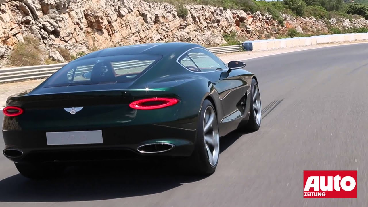 Bentley Exp 10 >> Video Bentley Exp 10 Speed 6 Concept