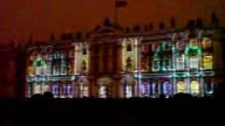 Лазерное шоу Питер Зимний дворец