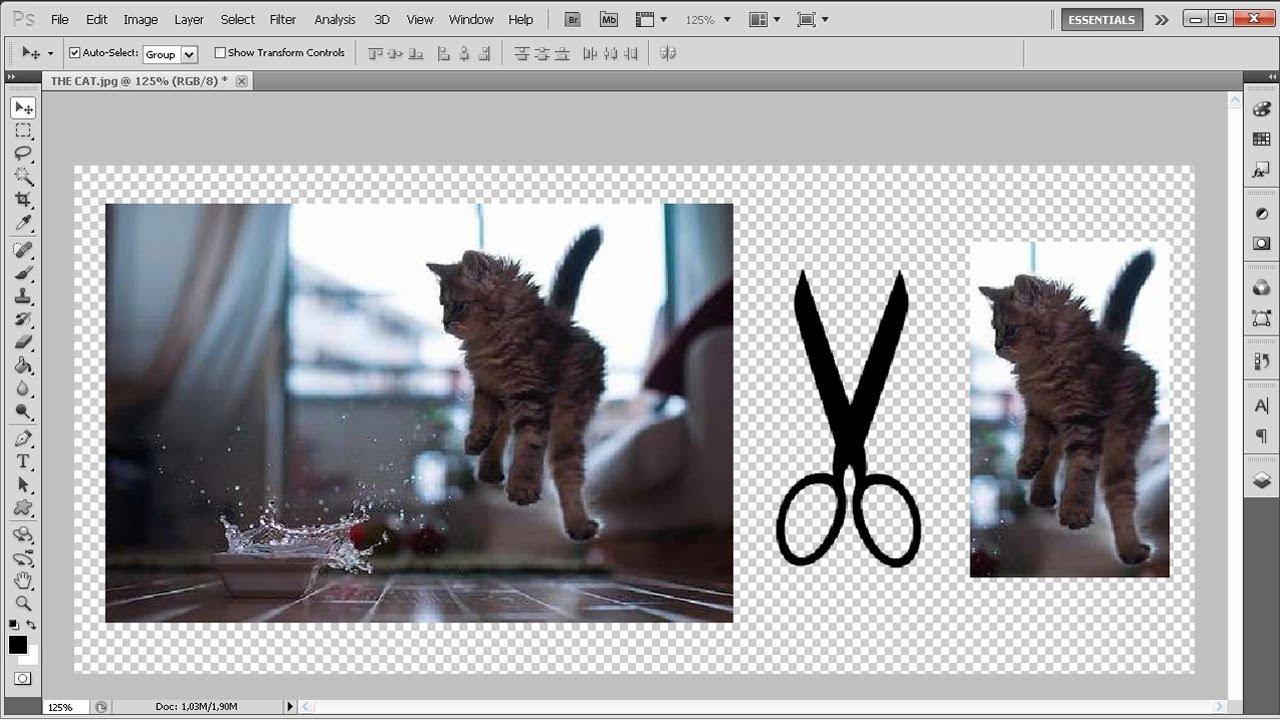 Сделать открытку, чем обрезать картинку