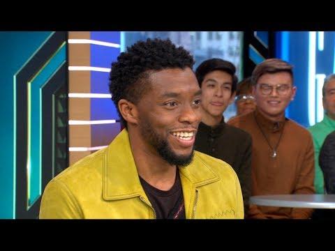 Chadwick Boseman opens up about