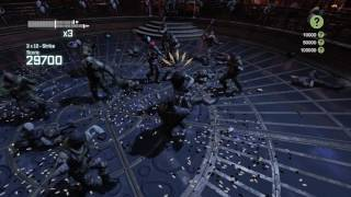 Batman Arkham City challenge map