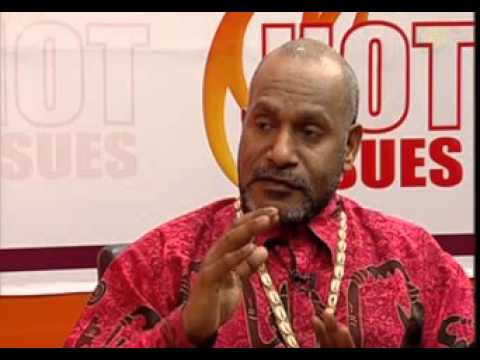 Hot Issues: With Chief Benny Wenda - West Papua 12 March 2016