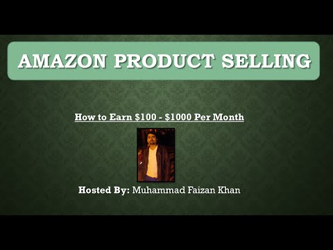Amazon Product Selling Business A Z- - Earn $100 - $1,000 Easily
