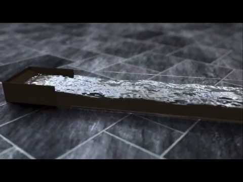 Blender realistic Fluid wave rendered with SLG
