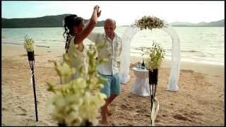 Свадебная церемония Жени и Лены в Таиланде.