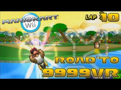 Raptor Abuse + The 8000 vr Dream! ft. Raptor - Road to 9999vr Ep 10 - Mario Kart Wii Wiimmfi CTGP