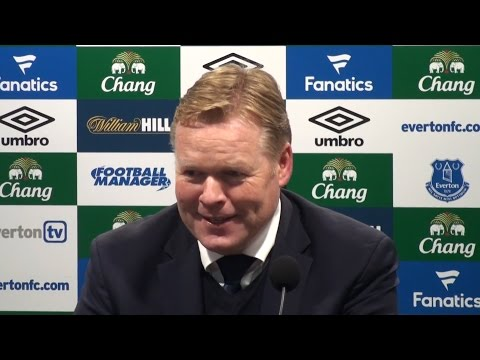 Everton 2-1 Arsenal - Ronald Koeman Full Post Match Press Conference