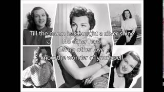 JO STAFFORD - No Other Love(1950)with lyrics