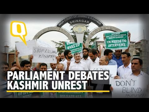 The Quint: Parliament Clamours for Political Solution to Kashmir Conflict