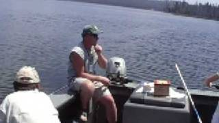Medicine Lake Trout Double Hook up--SC Guide Service