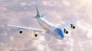 Test 3D avion de ligne (3D test Airliner)