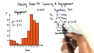 Conduct Hypothesis Test - Intro to Inferential Statistics