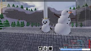 Roblox sno day Long Top Hat