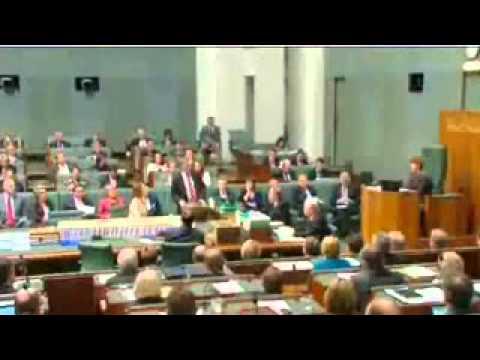 Julia Gillard Julie Bishop - AWU Scandal A Week Of Questions