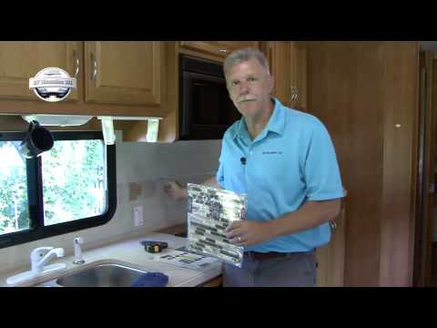 RV DIY® Kitchen Tile Project