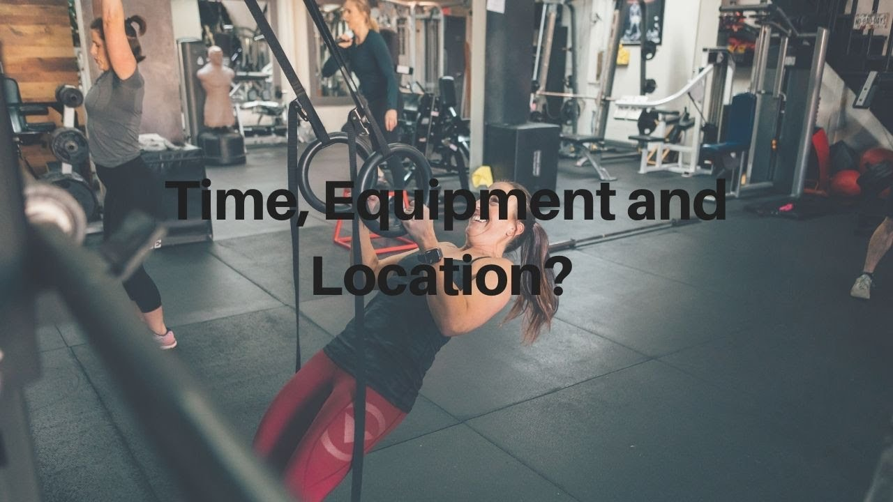 Equipment, Time and Location