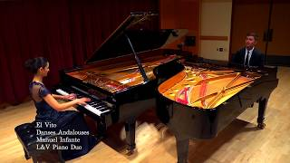 El Vito from Danses Andalouses by Manuel Infante. Performed by L&V Piano Duo