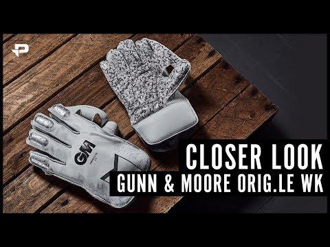 Gunn & Moore Original LE Wicket Keeping Gloves - Closer Look
