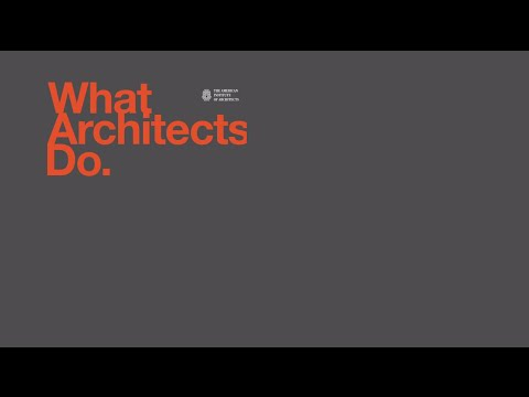 What Do Architects Do what architects do - youtube