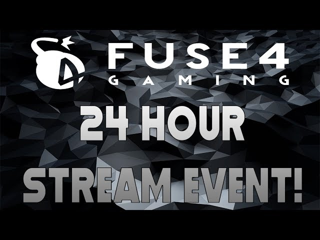 THE MAIN EVENT! | 24 HOUR STREAM SPECTACULAR!