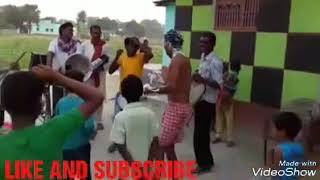 Desi gav ke  Funny status VIDIO nagin music dance