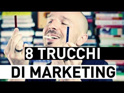 8 Trucchi di Marketing in cui caschiamo sempre