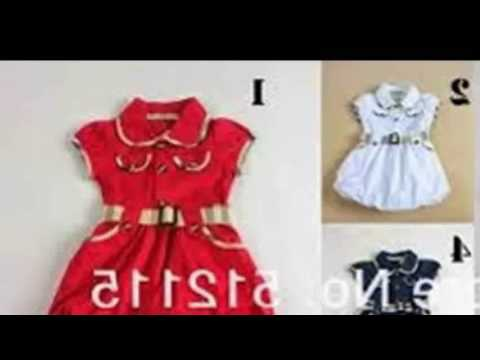 137976a67d388 New Baby Girl Dresses - Latest Kids Wear - YouTube