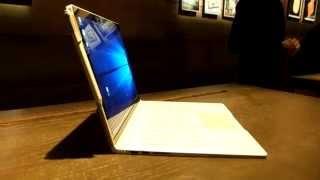 Microsoft Surface Book: présentation en français