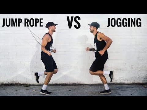 Would You Rather: Jump Rope Vs Jogging