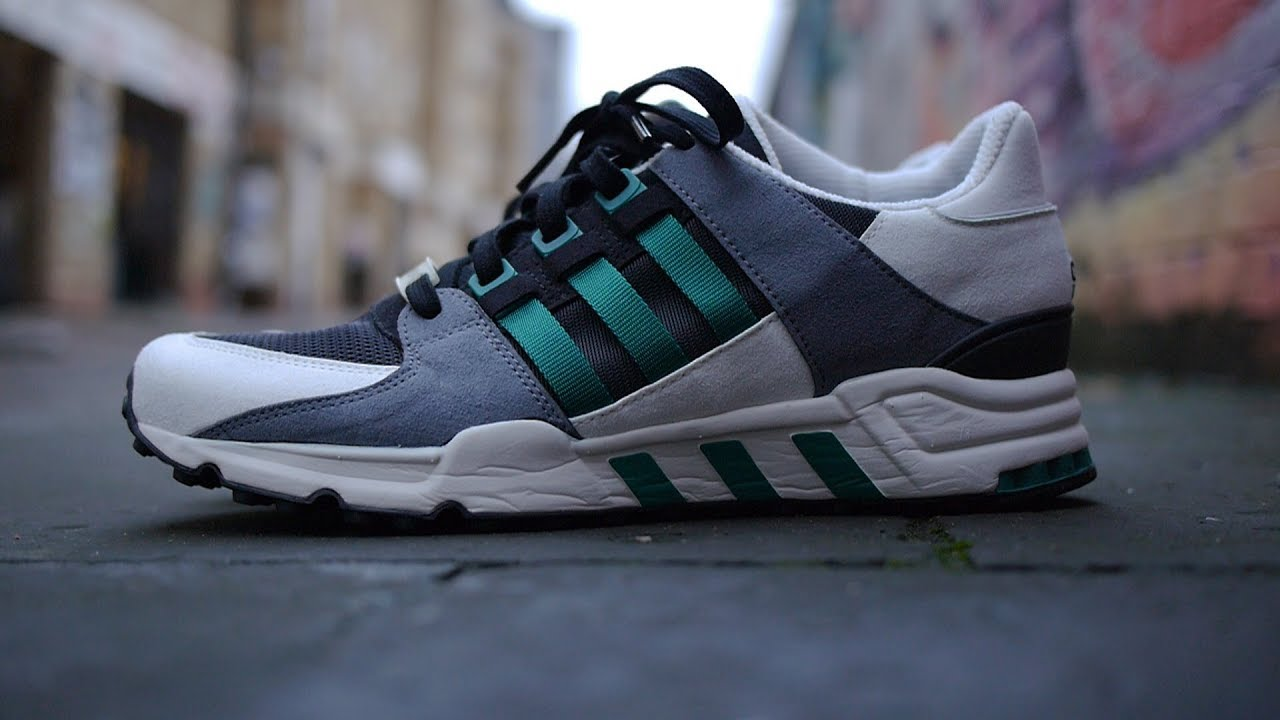 new product 9d604 7ed10 Adidas EQT Running Support 93 OG (Black/Sub Green) Review & On Feet *Crepe  City Pickup*