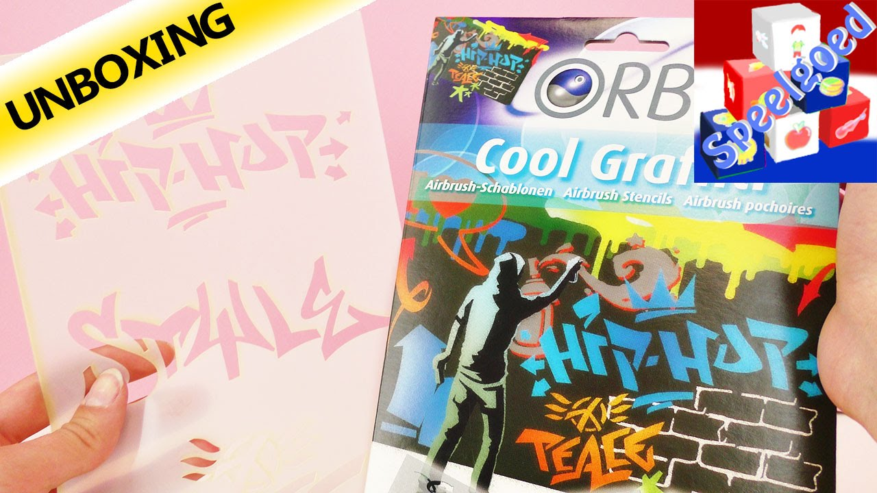 Revell cool graffiti airbrush set unboxing kamer deco zelf maken