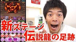 【パズドラ】新ステージ「伝説龍の足跡」がキター thumbnail